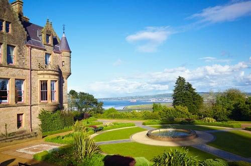 Vista desde el castillo de Belfast