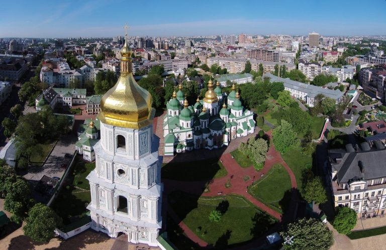 Dónde comer cerca de la Catedral de Santa Sofía de Kiev