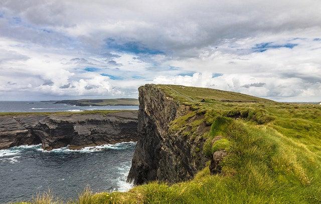 Irlanda desconocida: acantilados de Kilkee