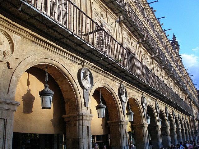 Arcos de la Plaza Mayor de Salamanca