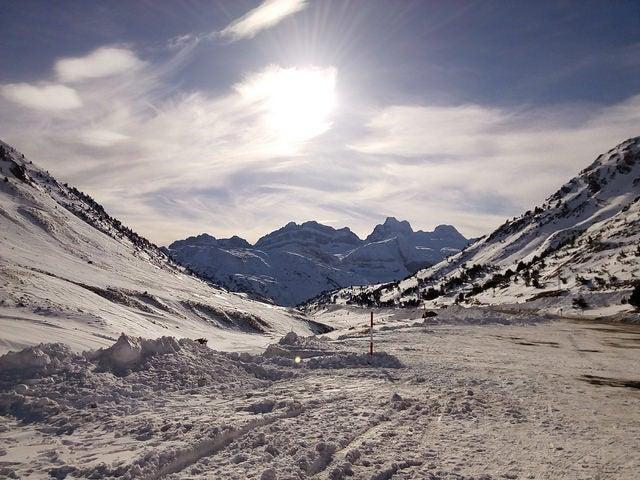 Astún en los Pirineos