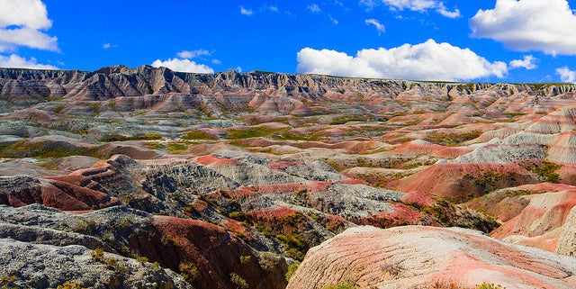 Badlands Park en Estados Unidos