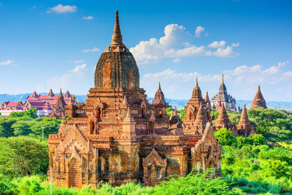 Vista de Bagan