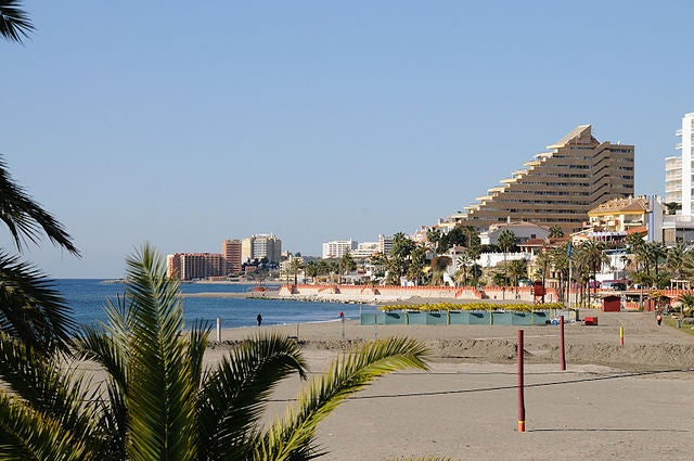 Playas de Benalmádena
