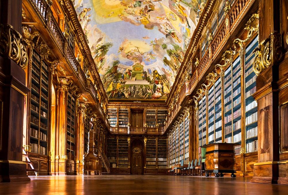 Biblioteca del monasterio Strahov en Praga