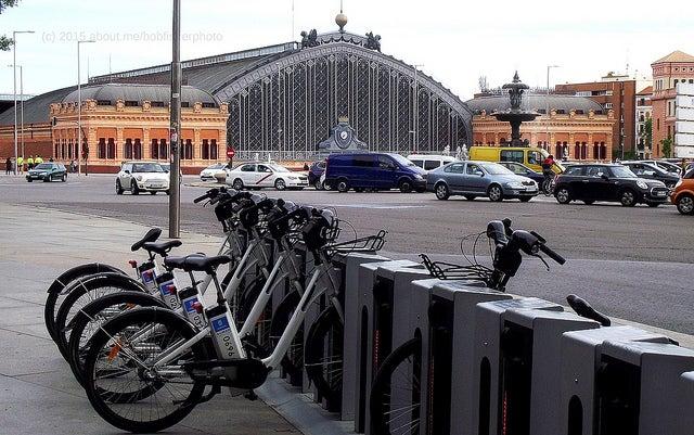 Moverse por Madrid, servicio de bicicletas