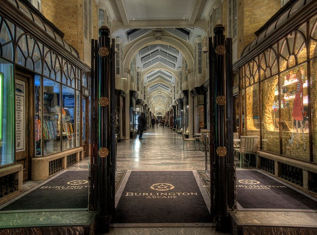 Burlington Arcade en Londres