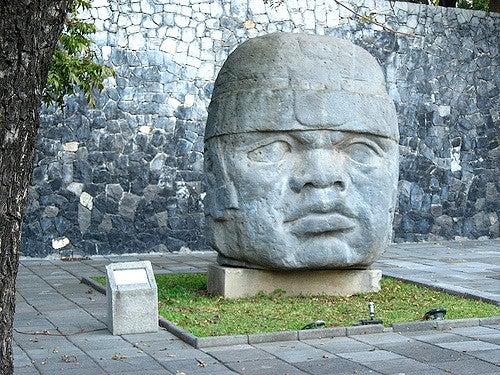 Cabeza colosal de México