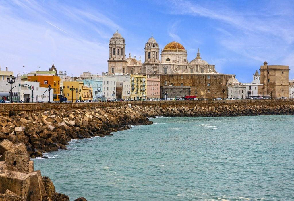 Paseo marítimo de Cádiz