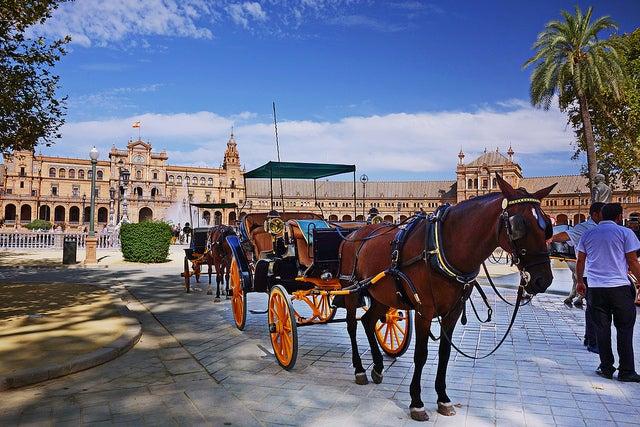 Calesa en Sevilla