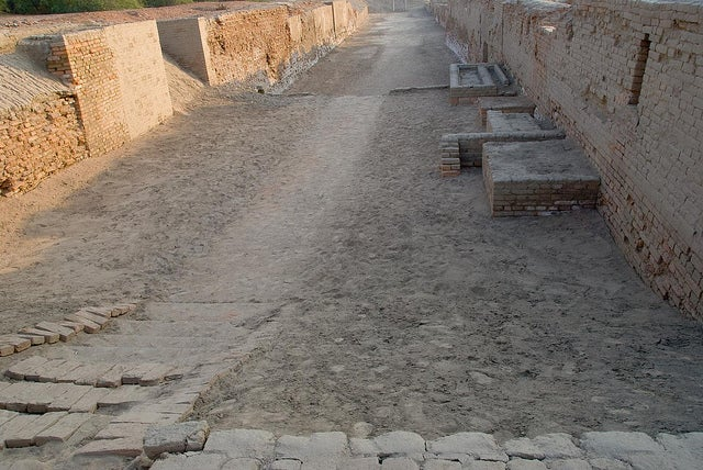 Calle de Mohenjo-Daro
