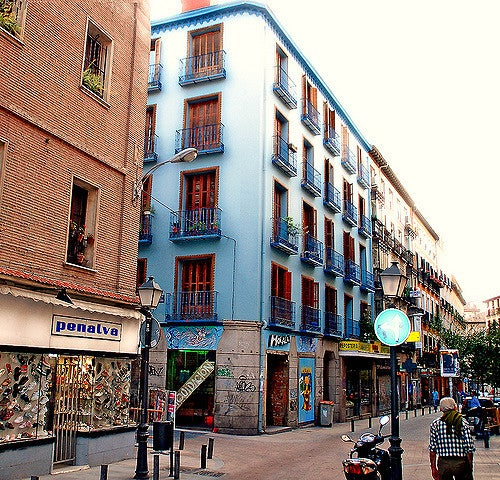Calle Pez en Madrid