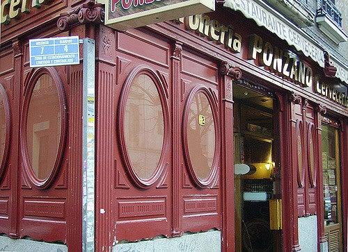 Calle Ponzano, zona de tapeo en Madrid