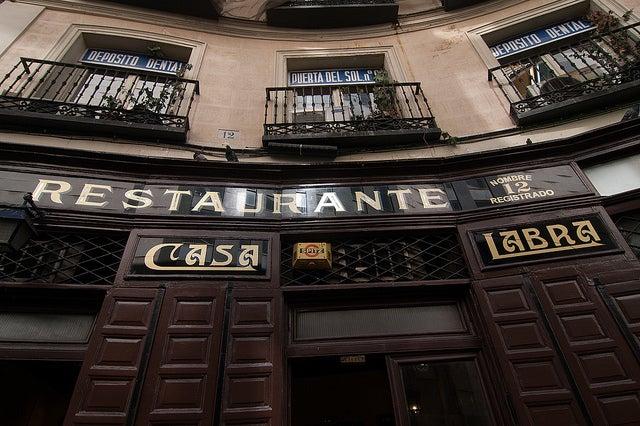 Casa Labra en Madrid