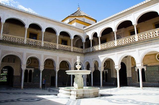 Palacios renacentistas, Casa de Pilatos en SEvilla