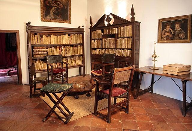 Estudio en la Casa Museo de Lope de Vega