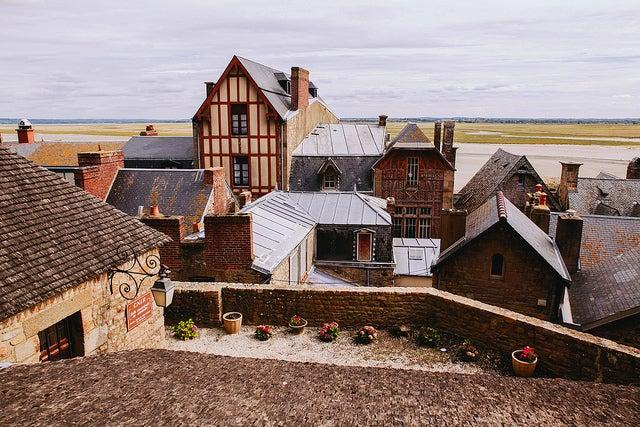 Casas en Mont Saint Michel