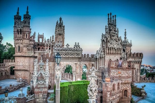 Castillo de Colomares en Benalmádena