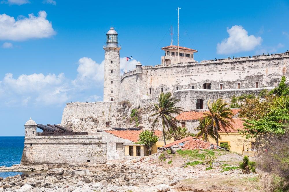 Castillo de los Tres Reyes Magos en La Habana