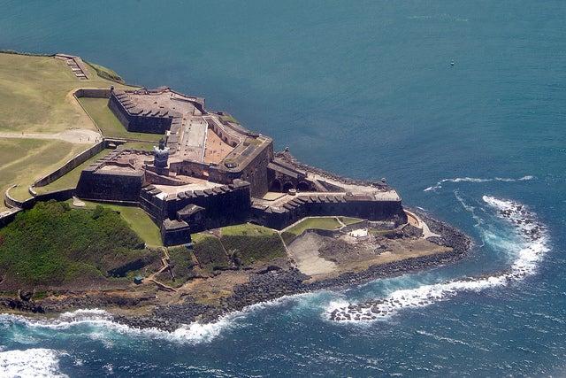 Castillo de San Felipe del Morro en Puerto Rico