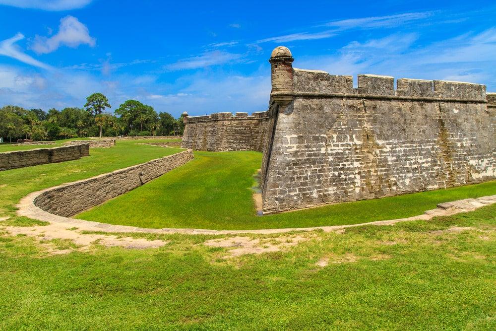 Fortalezas en América: Castillo de San Marcos en Florida