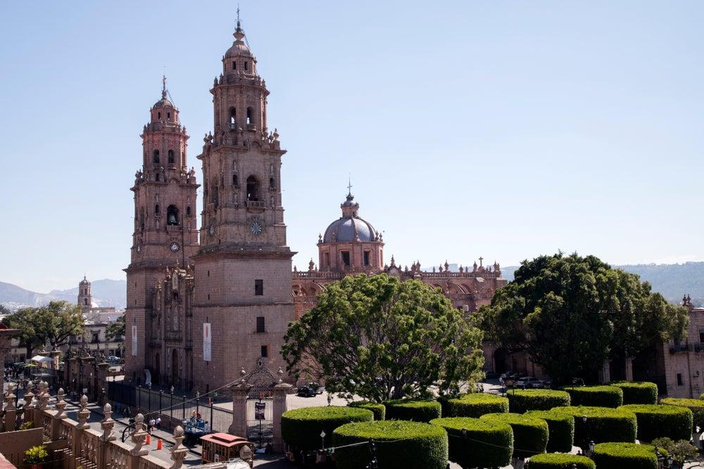 Catedral de Morelia en México