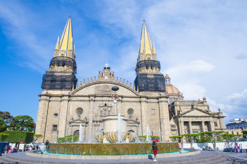 Catedral de Guadalajara en México