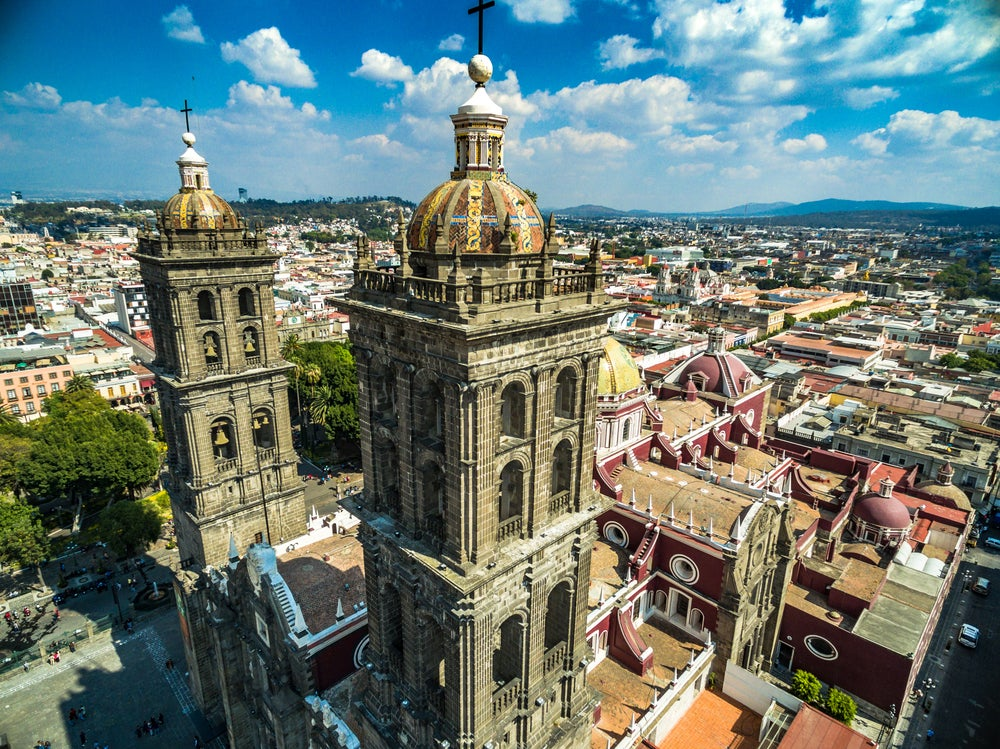 Catedral de Puebla en México