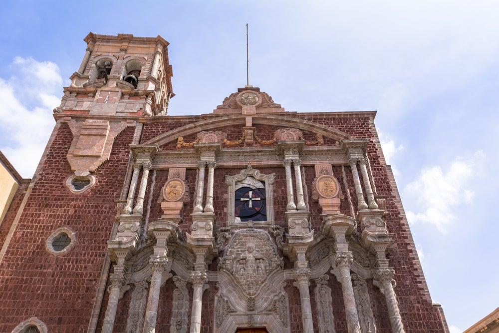 Catedral de Queretaro en México