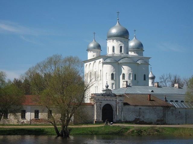 Catedral de San Jorge en Yuriev