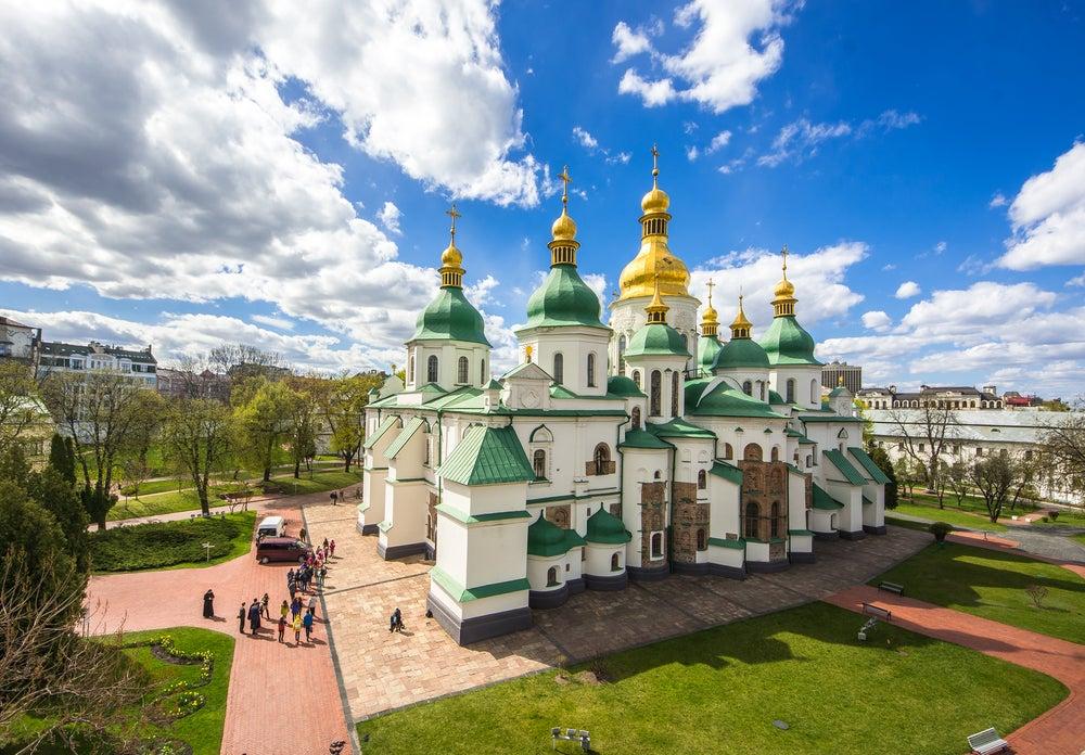 Mil años de historia en la catedral de Santa Sofía de Kiev