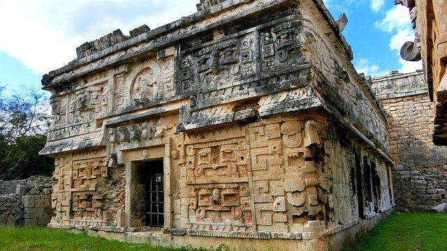 Palacio en Chinchén Itzá