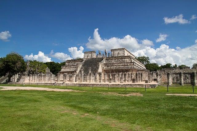 Edificios en Chichén Itzá