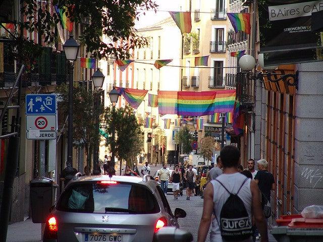 Chueca, uno de los barrios de Madrid más populares
