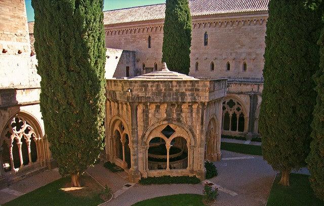 Claustro monasterio de Poblet
