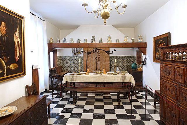 Comedor en el Museo de Artes Decorativas de Madrid