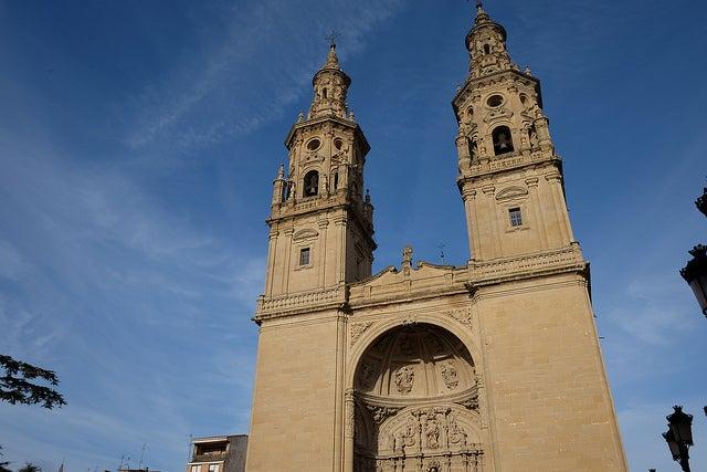 Concatedral de Santa María en Logroño