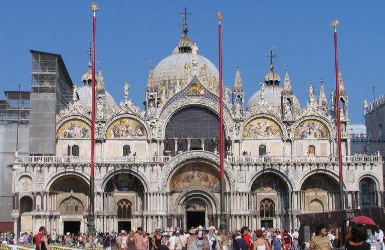 Curiosidades de la basílica de San Marcos de Venecia