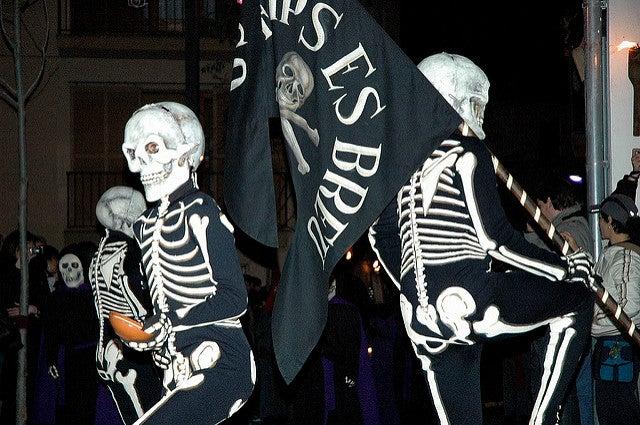 Danza dela Muerte en Verges