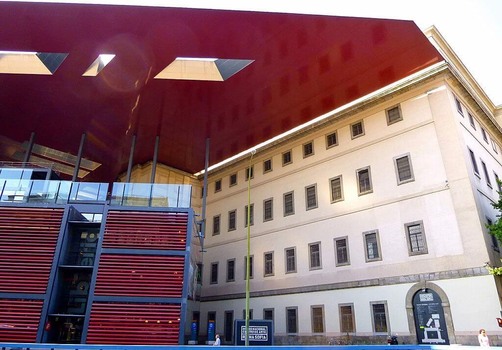 Edificio nouvel del Centro de Arte Reina Sofía