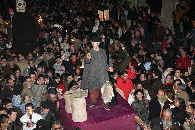 Entierro de Genarín en León