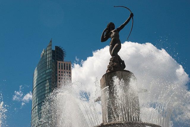 Fuente de Diana en México