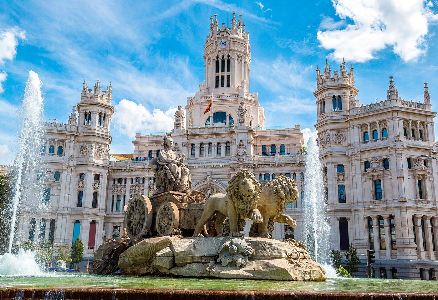 La Cibeles, la fuente más famosa de Madrid