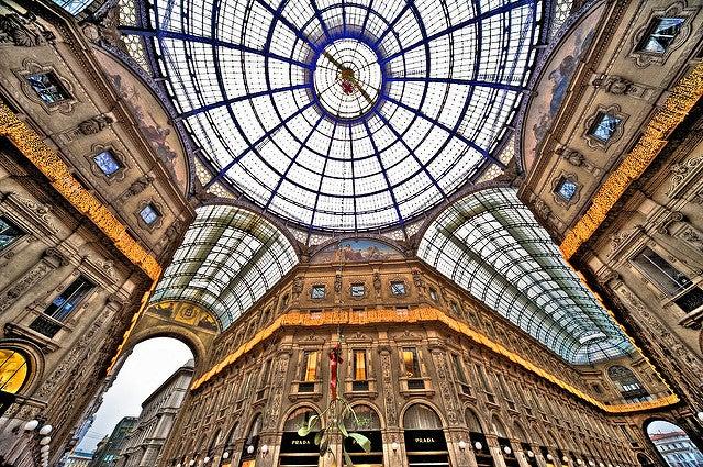 Galería Vittorio Emanuelle I en Milán