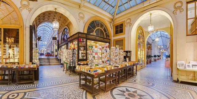 Galería Vivienne de París