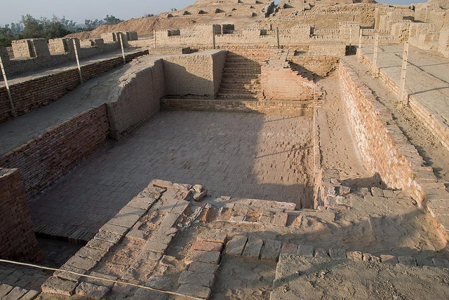 Gran Baño en Mohenjo Daro