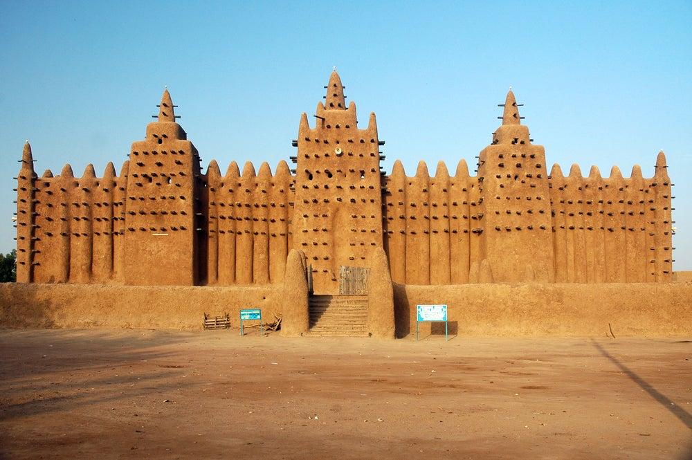La Gran Mezquita de Djenné, el edificio de barro más grande del mundo