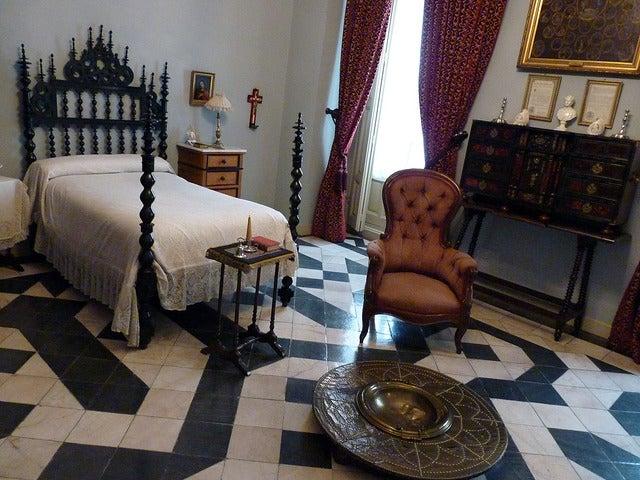 Habitación del marqués en el Museo Cerralbo