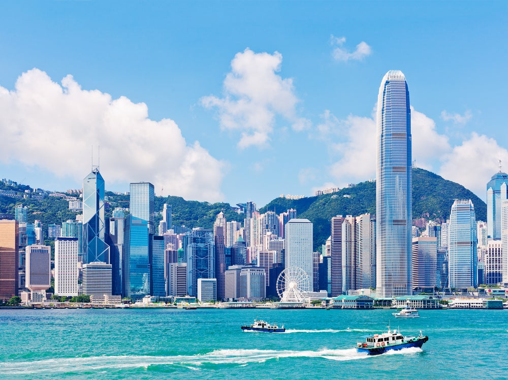 Hong Kong desde Vistria Harbour