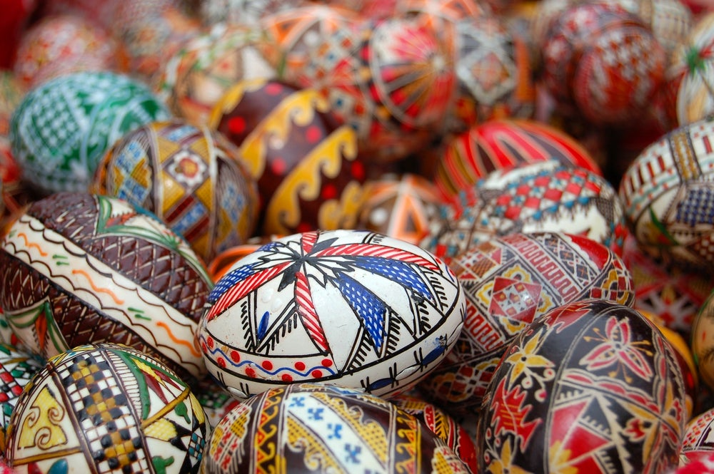Tradiciones de SEmana Santa, huevos de Pascua